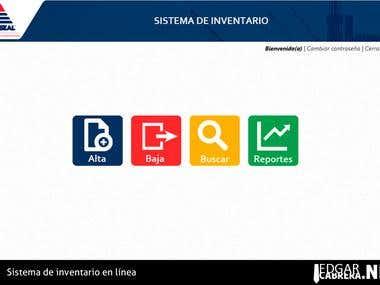 Sistema de Inventario para compañía inglesa en PHP y MySQL