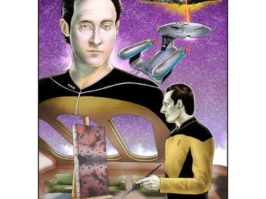 Star Trek illustration
