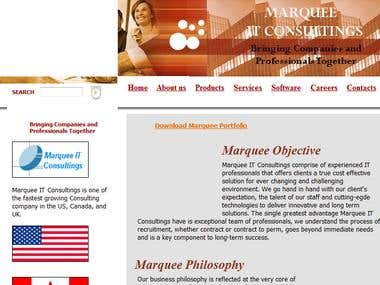 Marquee IT Solutions official site
