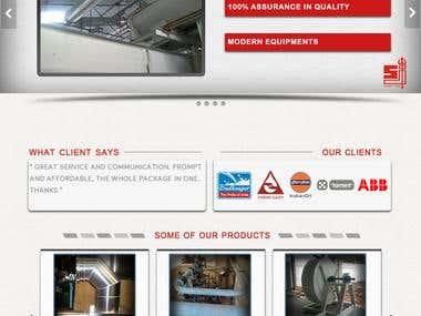 Ducting Website