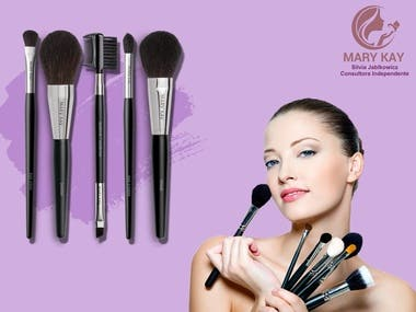 Mary Kay Beauty Products Banner