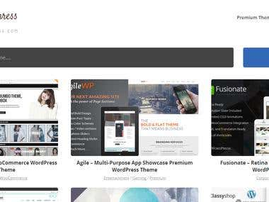 Theme For Wordpress - Custom Designs