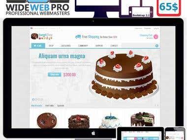 SweetShop Prestashop Responsive Theme