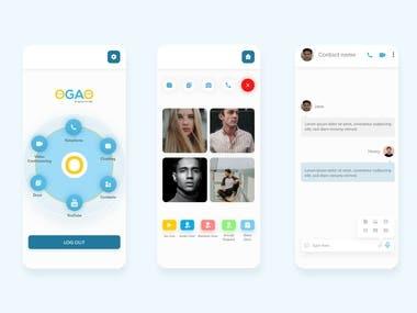 OGOA Video Conferencing App
