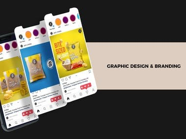 All their creative needs for design and other branding requi