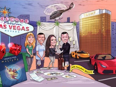 Illustration - Las Vegas