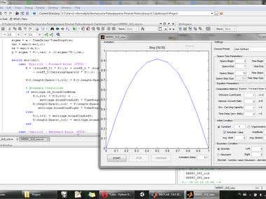 MatLab Partial Differential Equations Modeling