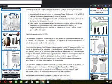 Traducción técnica inglés a español