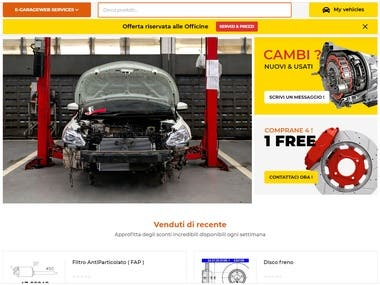 Auto Parts Custom base Online store
