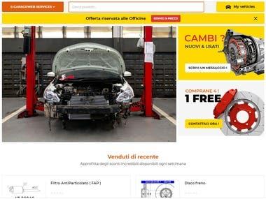 Auto Parts Custom base Online store