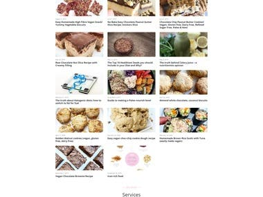Online Nutrition Blog