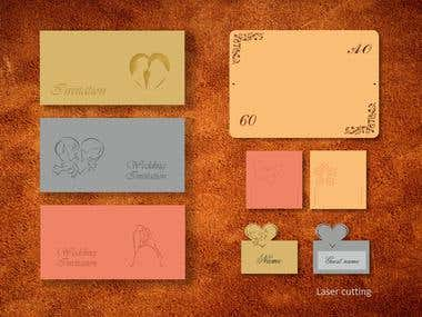 Greeting cards, invitations, gift certificates