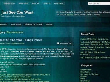 My Wordpress Site