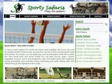 Sporty safaris