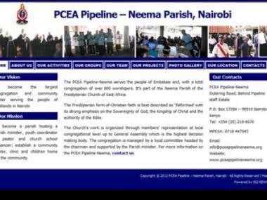 PCEA Pipeline Parish