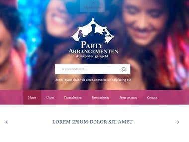 Partyarrangementen