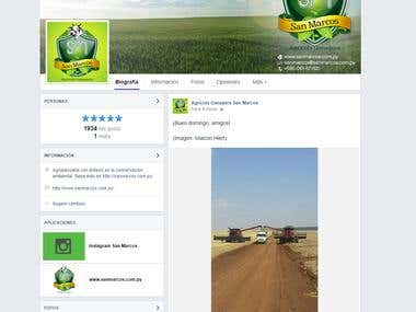 Project: Design Cover Photo for Agricola Ganadera S. Marcos