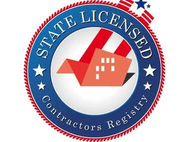 Constrators State Licensed Logo