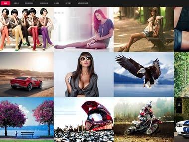 Photography theme development