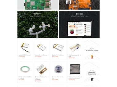 Micro/Electronic device selling site