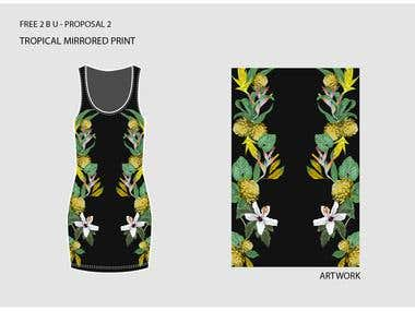 Tropical Dresses