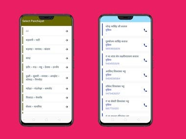 Phone Directory App for a Community