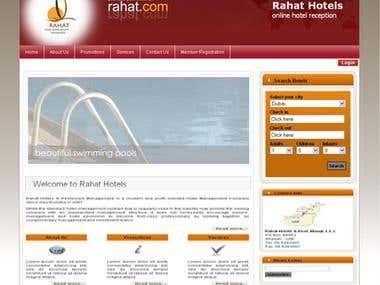 Rahat Hotels (http://www.rahathotels.com/)