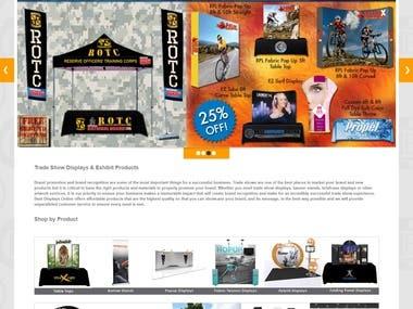 E commerce Website work