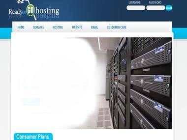 Website in Joomla - http://www.readysetgohosting.com