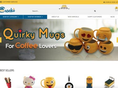 Cracko - eCommerce Marketplace