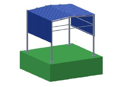 3D Canopy Structure