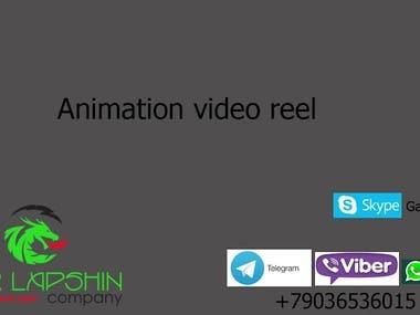 Animation demoreel Igor Lapshin