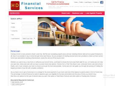 Hd Financial services.
