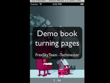 Book turning page Proof Of Concept