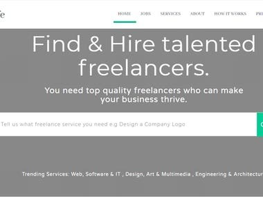 Freelancer Like Website