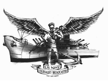 Us Navy Tatto design
