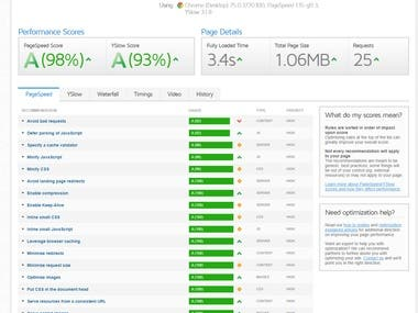 Website Speed up and Malware Removal