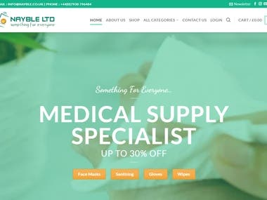 Medicare E-commerce Website UK