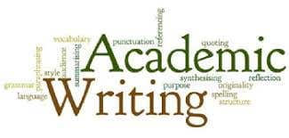 Professional academic writing