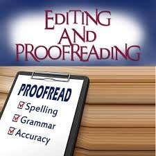 Quality editing, proofreading and professional resumes