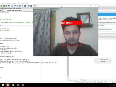 Face Mask Detection using Convolutional Neural Networks