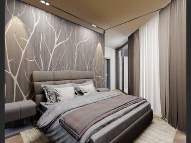 Bedroom Design project.