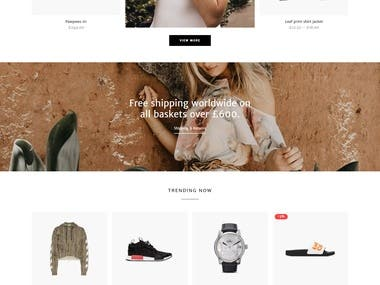 eCommerce Shop Ideas #2