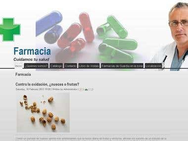 Pharmacy Website