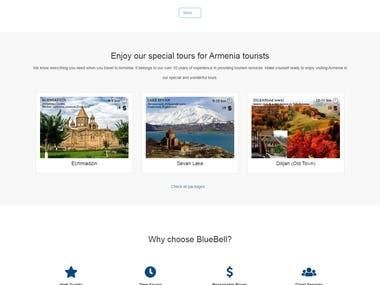 BlueBell Website