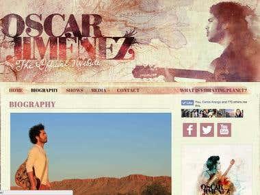 Oscar Jimenez Music