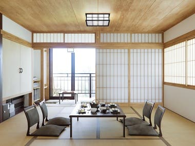 Japanese style interior