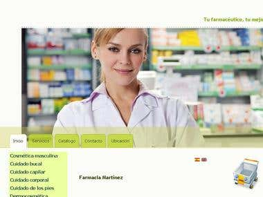 Online Pharmacy Shop