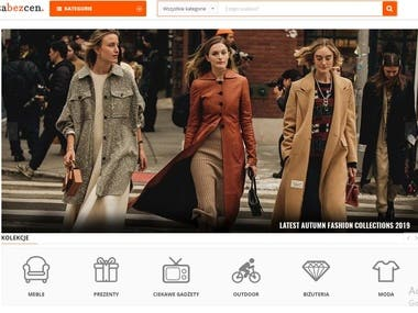 Magento 2 Cloth & Personal Items eCommerce website