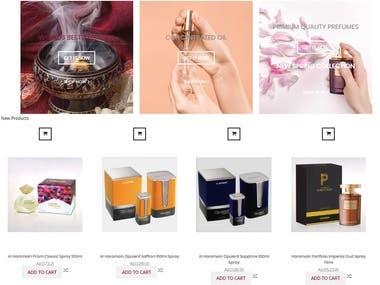 WooCommerce Perfume Website